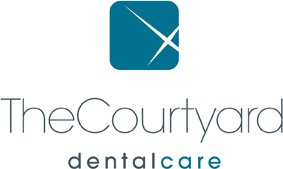 the courtyard dental care logo